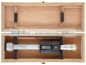 Mitutoyo 468 162 Digimatic Holtest Lcd Inside Micrometer Three point 8 10mm