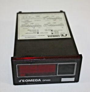 Omega Engineering Dp460 Thermocouple Digital Panel Temperature Meter 115v Tested