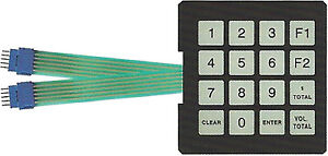 Gilbarco T17549 g1 Programmable Manager Membrane Switch Keypad 6 Pack
