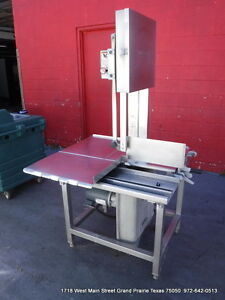 Hobart Commercial Butcher Band Meat Saw Model 6801