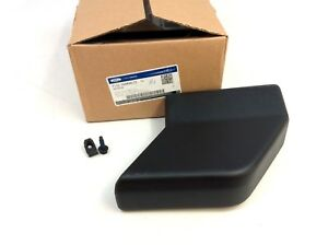 Ford Super Duty F 150 Black Right Front Or Left Rear Running Board End Cap Oem