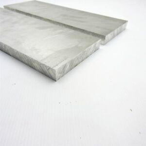 1 Thick Aluminum 6061 Plate 5 8125 X 18 Long Qty 2 Sku 175021