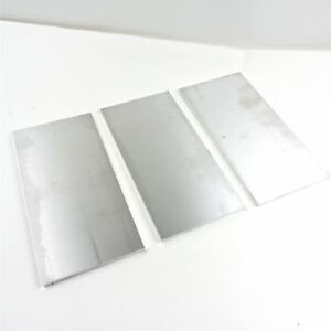 5 Thick 1 2 Aluminum 6061 Plate 7 5 X 15 75 Long Qty 3 Sku 175036