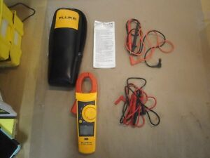 Fluke Multimeter 335 True Rms Clamp Meter With 2 Sets Of Leads 3b