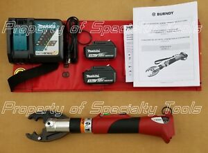 Burndy Patmd li Patmd Battery Hydraulic Crimper Crimping D Bg Jaw Crimp Tool New