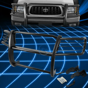 Black Brush Bumper Protector Grille Guard For 1998 2004 Toyota Tacoma Pickup