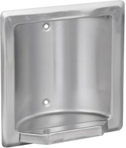 Franklin Brass Century Recessed Soap Or Tumbler Holder Bright Stainless Steel