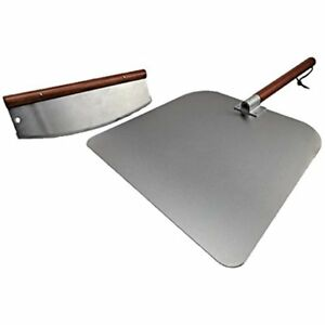 Pizza Peels Large 14 inch Cutter Aluminium Paddle Board Set 14 inch 16 inch