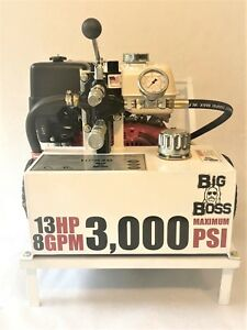 New Big Boss Compact Portable Hydraulic Power Pack Unit Pump 5 8 Gpm 3 000 Psi