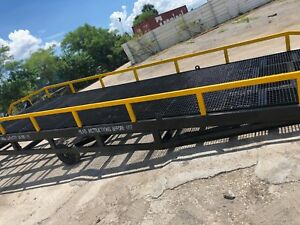 Yard Ramp Yard Dock Trailer Loading Dock Forklift Ramp 86 wide 82 5 Usable