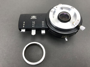 Carl Zeiss Microscope Polarizing Filter Holder 6 Filters