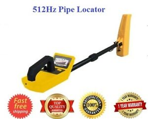 Sewer Drain Pipe Locator 512hz Lcd Display 15 Levels Sensitivity Adjustment New