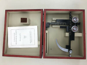 Bausch Lomb Microscope X y Mechanical Stage In Wooden Box