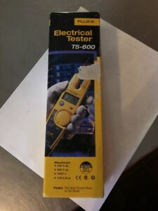 Fluke T5 600 600v Voltage Continuity And Current Tester New Free Shipping New