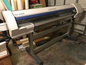 Roland Versacamm Sp 540v Eco Solvent Printer cutter plotter 54 Wide Excellent