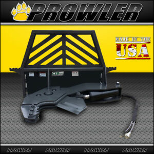 Prowler Non rotating Tree Shear Skid Steer Attachment 12 Inch Cut