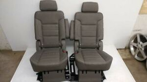 2015 2016 Yukon Denali Middle Row Bucket Seats Cocoa Dark Atmosphere Leather Ni
