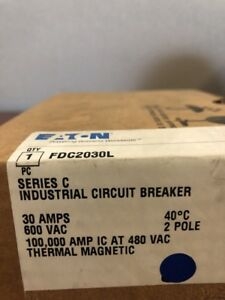 Fdc2030l C h new In Box 2 Pole 30 Amp 600 V