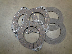 John Deere 80 820 830 Clutch Double Sided Disc And Floating Disc Set