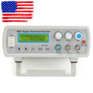 2mhz Dds Function Signal Generator Sine square Wave Sweep Frequency Meter Usa