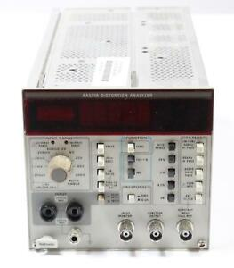 Tektronix Aa501a Distortion Analyzer Plug In