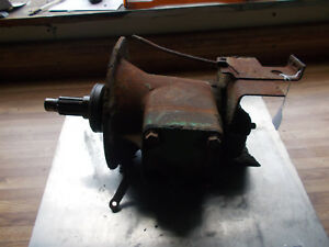 Vintage John Deere l La Tractor L4123t Complete Clutch Housing With Fork