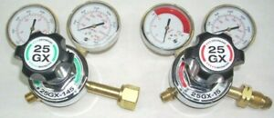 Harris Model 25gx Oxygen Acetylene Regulator Set Heavy Duty Usa Made