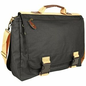 Impecgear Deluxe Expandable High Quality Portfolio Adjustable W Strap