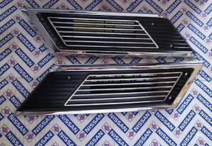 Datsun 510 Side Vents C Pilar Vents Rejillas Laterales Brand New Bluebird 1600