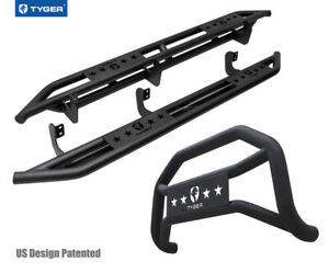 For 2005 2019 Nissan Frontier Crew Cab Tyger Armor Bumer Guard Combo
