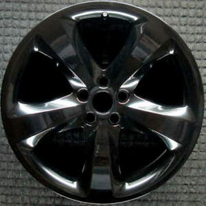 Dodge Charger Black 20 Inch Oem Wheel 2013 2014 1uh63dx8ab 1uh63dx8aa
