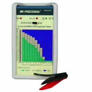 B k Precision 881 In circuit Esr And Dc Resistance Capacitor Tester New
