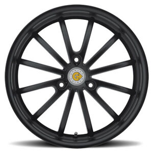 Genius Wheels Rim Darwin 17x7 5 3x112 Et26 Cb57 1 Gloss Black
