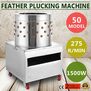 1500w Feather Plucking Plucker Machine Dehairing Hair Removal Environmental