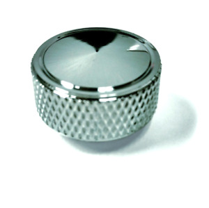 Chrome Knurled Air Cleaner Wing Nut 1 4 20 Universal Hot Rod Chevy Ford Mopar