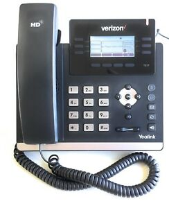 Verizon Yealink Sip t41p 6 line Ip Phone A stock W Poe Ps Verizon One Talk