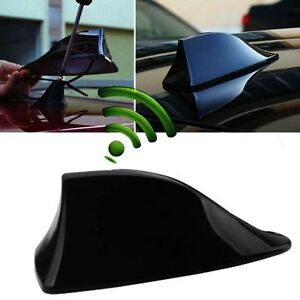 1x Car Shark Fin Universal Roof Antenna Radio Fm Am Decorate Aerial