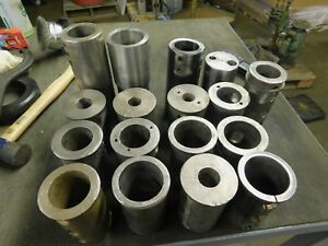 Set Of 17 Used 3 0 Diameter Lathe Tool Bushings