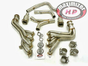 Maximizer Exhaust Header For 00 02 Trans Am camaro firebird Ls1 F body Catted