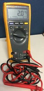 Used Fluke 179 True Rms Multimeter With Leads