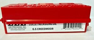 Lee Precision 6.5 Creedmoor Collet Neck Sizing Die Only Complete