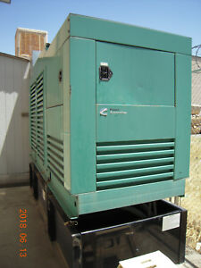 250kw Onan Cummings Diesel Generator W cummings Xfer Switch
