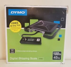 Digital Postal Scale 100lb Shipping Packaging Dymo S100 New In Box