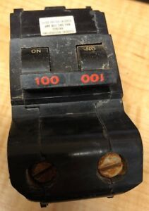 Federal Pacific 100 Amp 2 Pole Circuit Breaker
