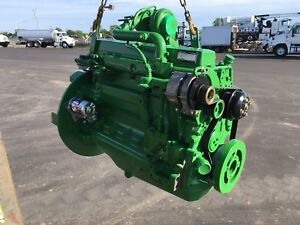 John Deere 6068 Tf151 Diesel Engine New In Original Crate