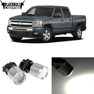 3157 3156 Led Backup Reverse Light Bulbs For Chevy Silverado 1500 2007 2013