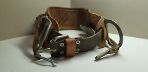 Bashlin Leather Climbing Belt 473s Size D24