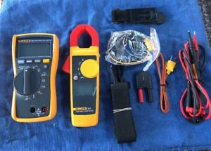 Clamp Meter Combo Kit 600 Volts Voltage Measurement Diagnose Fluke 116 322