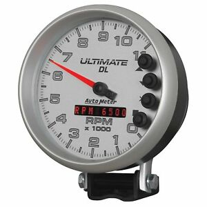 Autometer 6895 Ultimate Dl Playback Tachometer 5 11000 Rpm Racing Hot Rod
