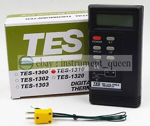 Tes 1310 Digital Thermometer Temperature Reader Sensor Tes1310